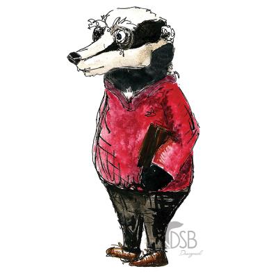 Badger Film Illustration