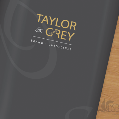 Branding Guidelines for Taylor & Grey