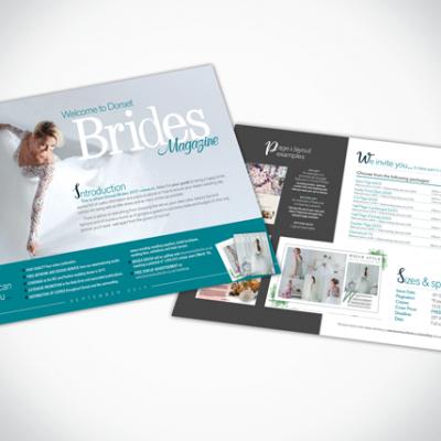 Bridal Media Sheet