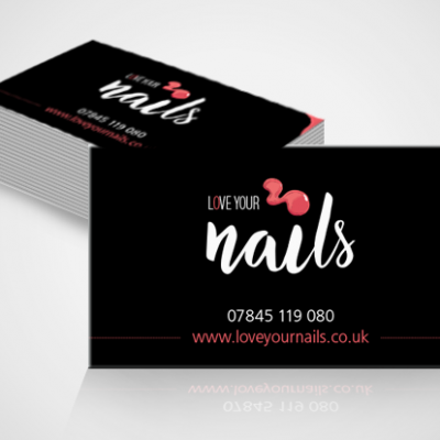 Love Your Nails Business Cards