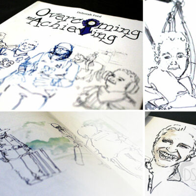 The Paralympics remind me of my final project at University - a reportage book on Overcoming and Achieving. It followed the lives of 5 individuals who are overcoming disabilities and achieving great things.