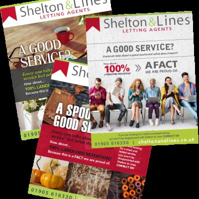 Shelton & Lines Branding Advert