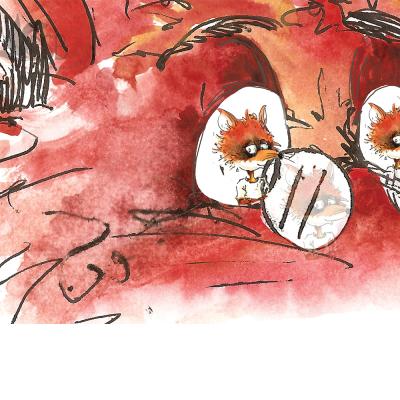 Fox Film Illustration Close Up